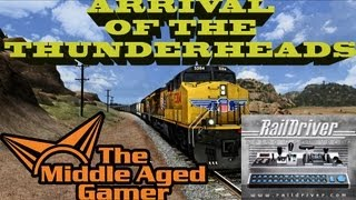 Train Simulator 2013 - Arrival of the Thunderheads Gameplay - Raildriver - The Middle Aged Gamer
