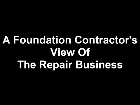 A Retired Foundation Contractor Speaks Out About Foundation Repair