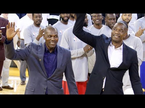 Hakeem and Dikembe Surprise in Africa!