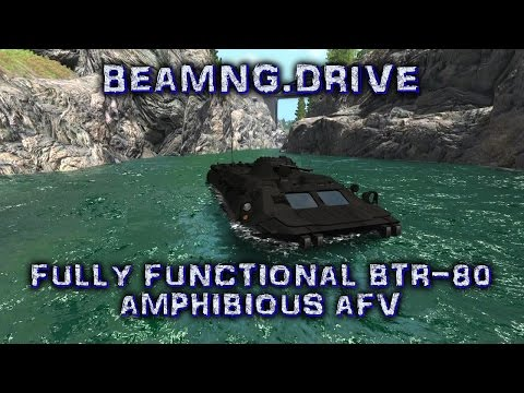 BeamNG.Drive Fully Functional BTR-80 Amphibious AFV