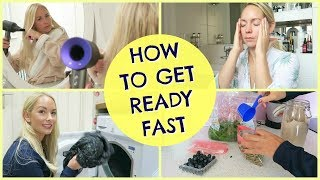 HOW TO GET READY FAST  |  MOM HACKS & TIPS  |  EMILY NORRIS AD