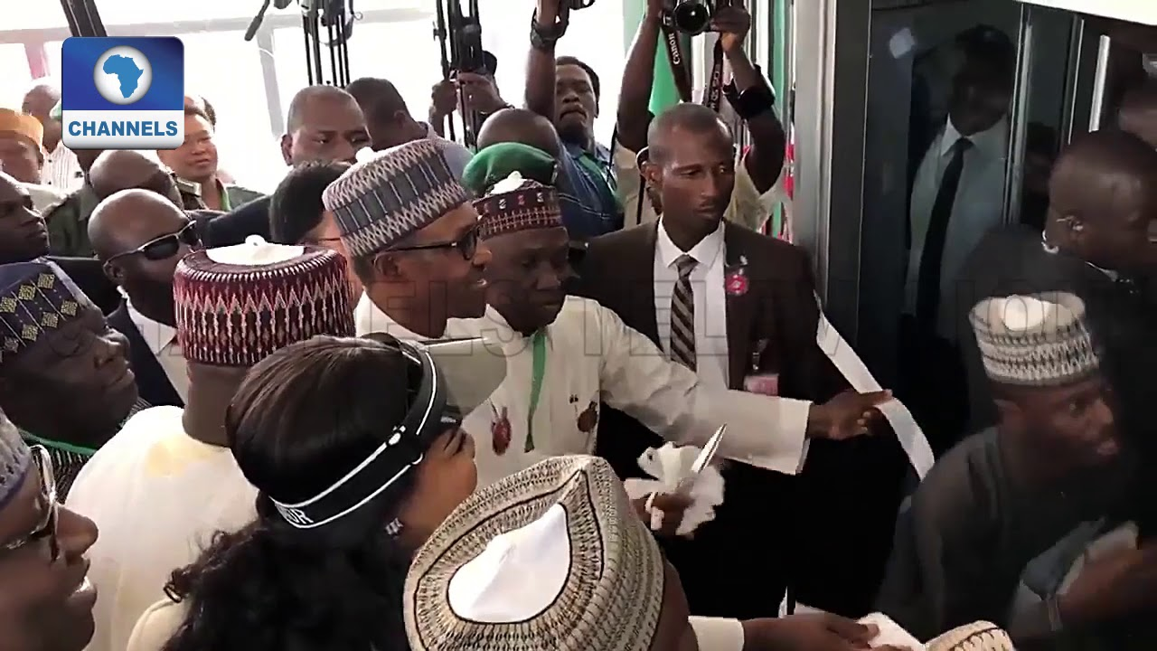 Buhari Commissions New Terminal Of Nnamdi Azikiwe Int'l Airport