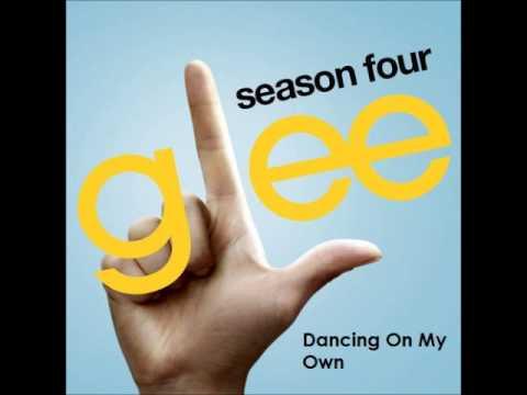 Glee - Dancing On My Own (DOWNLOAD MP3 + LYRICS)