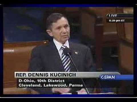 Kucinich: Articles of Impeachment 10.