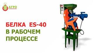 ES-40 Экструдер. В работе на выставке в Москве