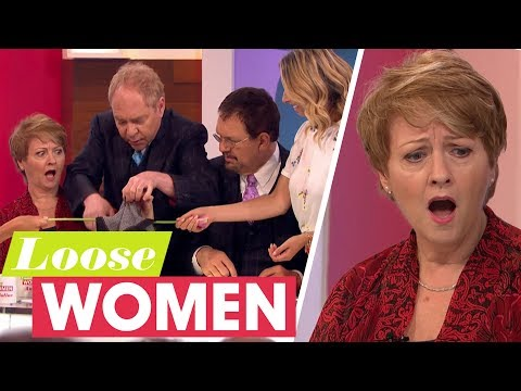 Penn & Teller Dazzle the Loose Women With More Magic Tricks | Loose Women
