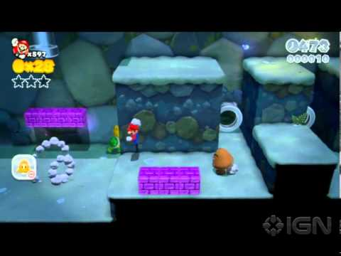 Super Mario 3D World Cheat: Infinite Lives on World 1-2