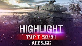 Чехословацкие танки в деле! TVP T 50/51 и Škoda T 50 в World of Tanks!
