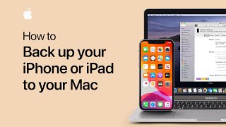 Gambar cover How to back up your iPhone or iPad in macOS Catalina — Apple Support