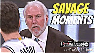 GREGG POPOVICH SAVAGE MOMENTS!😈