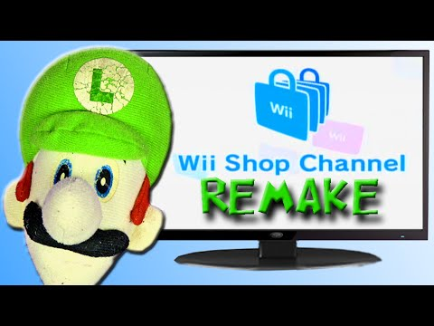 Wii Shop Channel - Luigi Time!!! Special Edition
