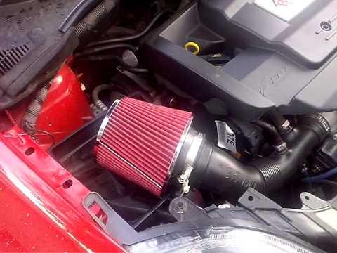 Filtro a cono su fiat punto 2012 1 4 benzina youtube for Filtro aria cabina passat 2012