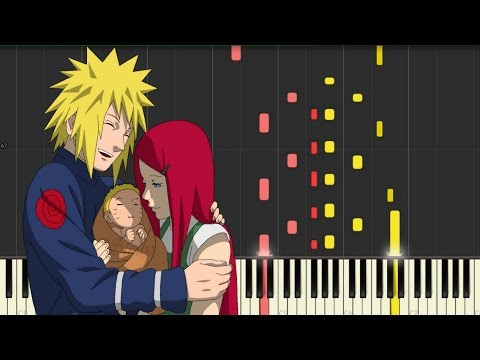 Naruto Shippuden OST 3 - Gentle Hands (Synthesia) || TedescoCreations