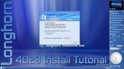 Microsoft Longhorn Build 4029 Install Tutorial