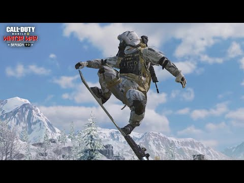 Call of Duty®: Mobile S13 Snowboarding in Battle Royale