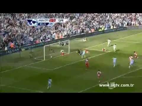 Manchester City 3 - QPR 2  (Muhteşem Geri Dönüş)