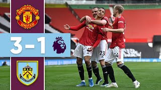 GREENWOOD & CAVANI WIN FOR UNITED | Man United v Burnley | Premier League