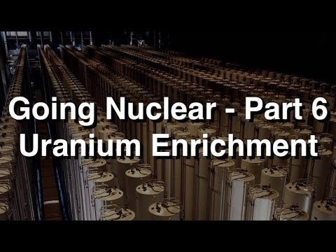 Going Nuclear – Part 6 – Uranium Enrichment