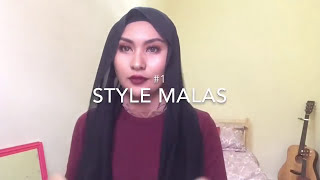 Simple Shawl Tutorial by Tatty Hassan