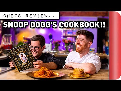 Chefs Review SNOOP DOGG'S COOK BOOK!!