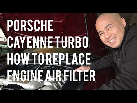 Porsche Cayenne Turbo How to Remove/Replace Engine Air Filter DIY Instructions