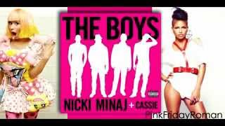 Nicki Minaj ft Cassie - The Boys Explicit (Official Audio).