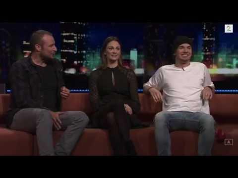 Thomas Hayes From Skam On Senkveld Norwegian Late Night Show 13/02/2017