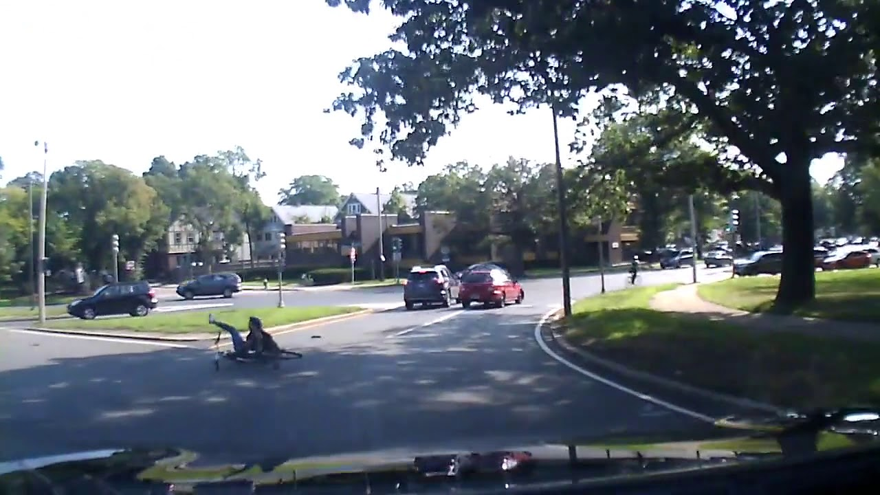 hit and run accident in boston involving cyclist - youtube