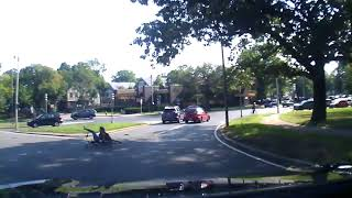 Hit and run accident in Boston involving cyclist