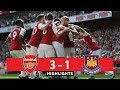 Arsenal vs West Ham 3-1 Highlights liga inggris 2018