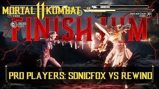Mortal Kombat 11 Tournament: Sonya (SonicFox) vs Raiden (Rewind) | FULL 1080p