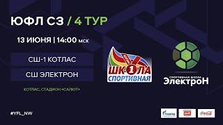 СШ-1 Котлас – СШ «Электрон». 4 тур