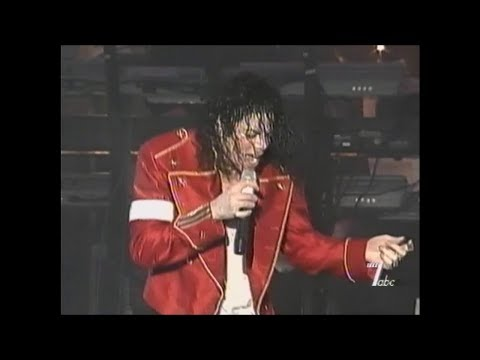Michael Jackson - HIStory Tour Bucharest, Romania September 14, 1996 - Come Together/D.S.