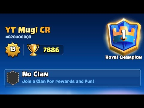Download early season top1 Ladder Clash Royale🥇