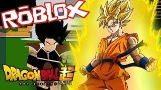 Entraîné par goku !! - Roblox - Dragon Ball Super 2 #1
