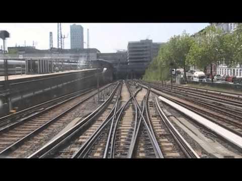 Führerstandsmitfahrt S-Bahn Hamburg S31/S1 Berliner Tor - Altona - Friedrichsberg