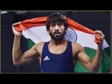 #Asian Games 2018 !! Punia Won India's First Gold Medal In Wrestling.!!