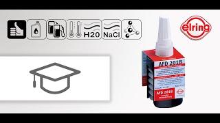 Нанесение герметика на ГБЦ AFD 2018 Elring