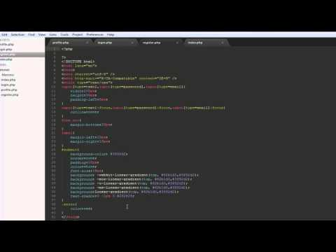 Creating A Simple PHP Member System Part 2