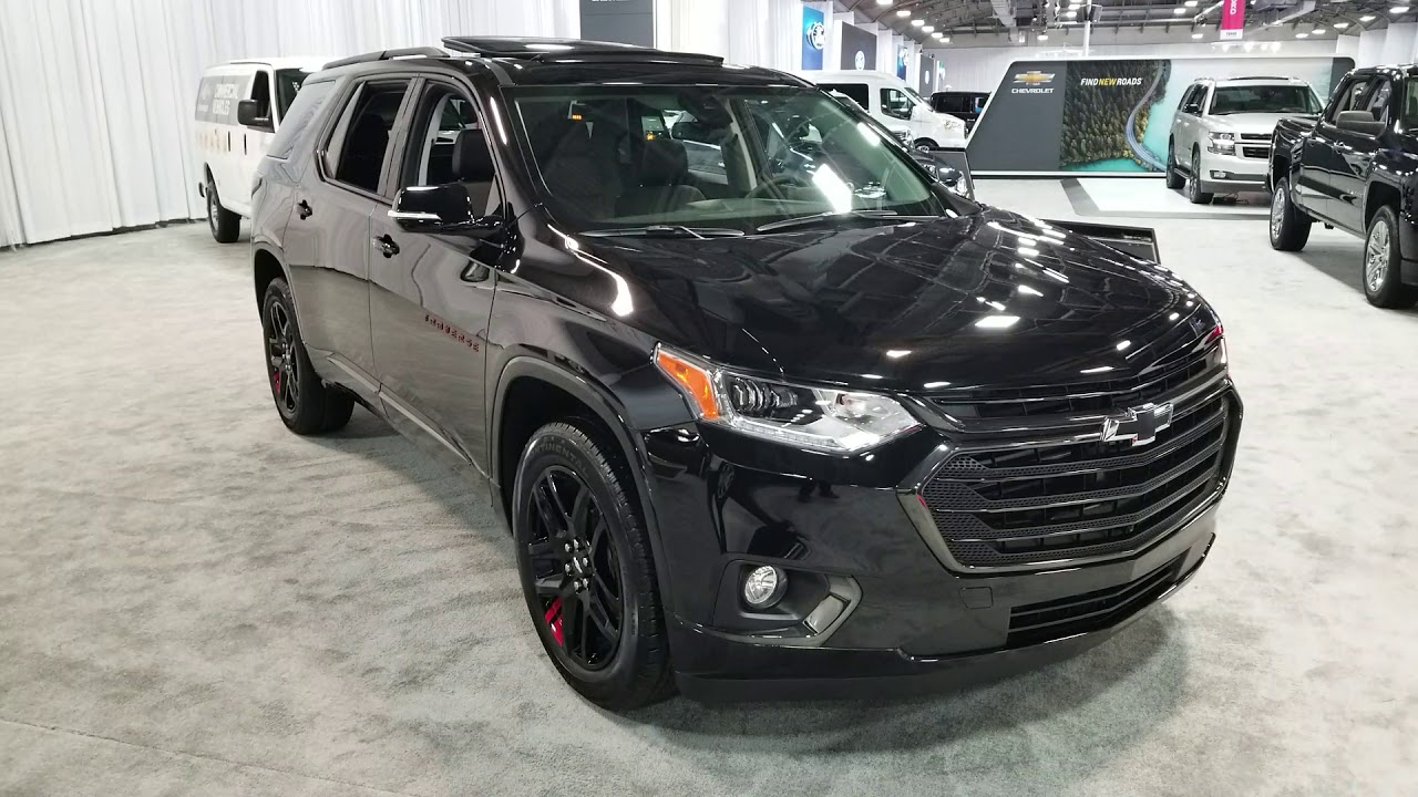 2019 Chevy Traverse Redline Review - YouTube