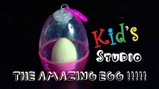 AMAZING MAGIC EGG !!!! Dinosaur in water !! Break the egg !