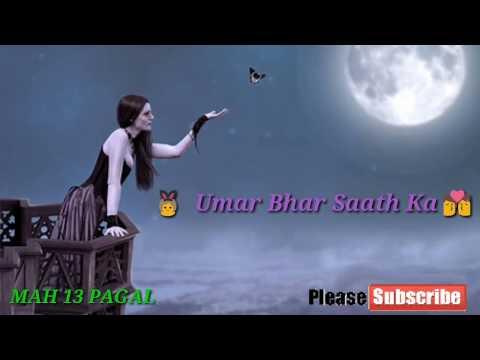 Whatsapp Video Status Wada Tha Har Raat Ka  | Tony Kakkar | Emotional Heart Touching New Song 2017