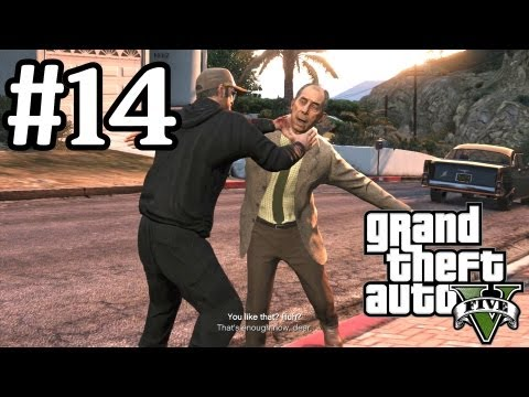 GTA 5 Walkthrough Part 14 - Choking Fan Boys - Xbox 360 1080P - Grand Theft Auto V Gameplay
