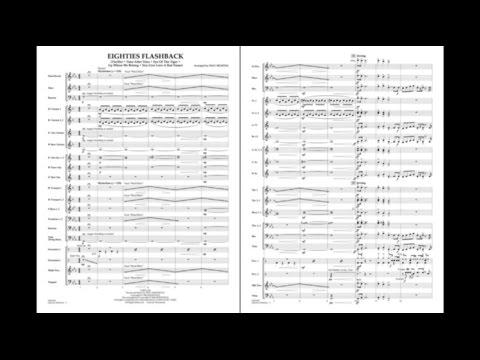 Eighties Flashback arranged by Paul Murtha