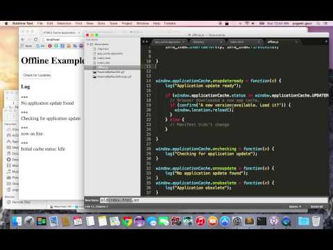 In 6 Minutes Learn To Use HTML 5 Caching To Improve Web Site Performance