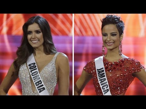 Miss Colombia wins Miss Universe 2015, Miss Jamaica wins hearts