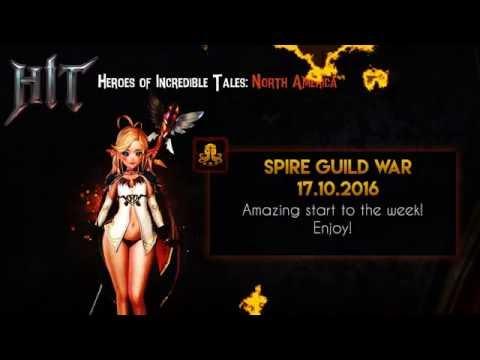 Heroes of Incredible Tales ( HIT ): Guild War NA 17.10.16