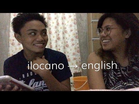 Ilocano Challenge: Learning Filipino Words with Joshua Balcita Cabrera