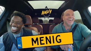 Queensy Menig - Bij Andy in de auto! (English subtitles)
