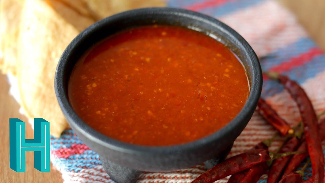 Chile De Arbol Salsa Recipe Hilah Cooking
